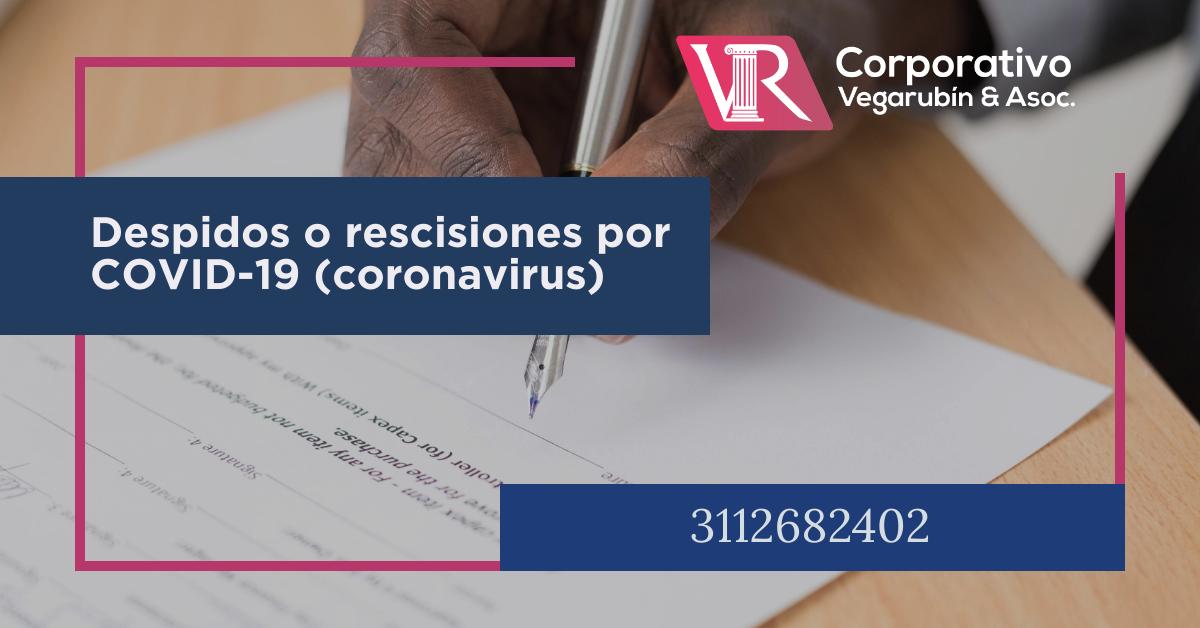 """Implicación laboral con el COVID-19 (coronavirus). Si el país emite una declaración de """"Emergencia Sanitaria"""", esto sería considerado como una causa de suspensión temporal del trabajador"""
