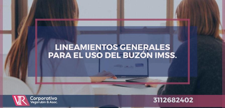 LINEAMIENTOS GENERALES PARA EL USO DEL BUZÓN IMSS