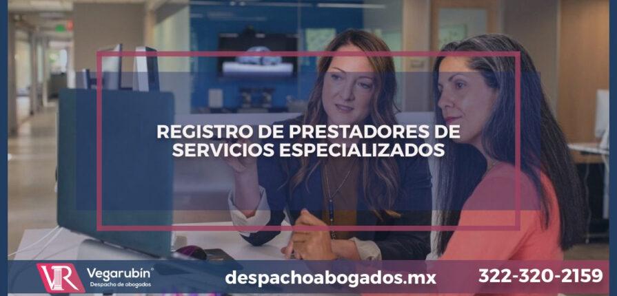 Preguntas frecuentes del registro de prestadores de servicio.